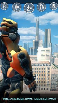 War robots, robot chicken Robot Shark war fighting screenshot 2