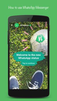 Free WhatsUp Messenger Tips poster
