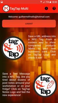 Tag&Tap Multi screenshot 2
