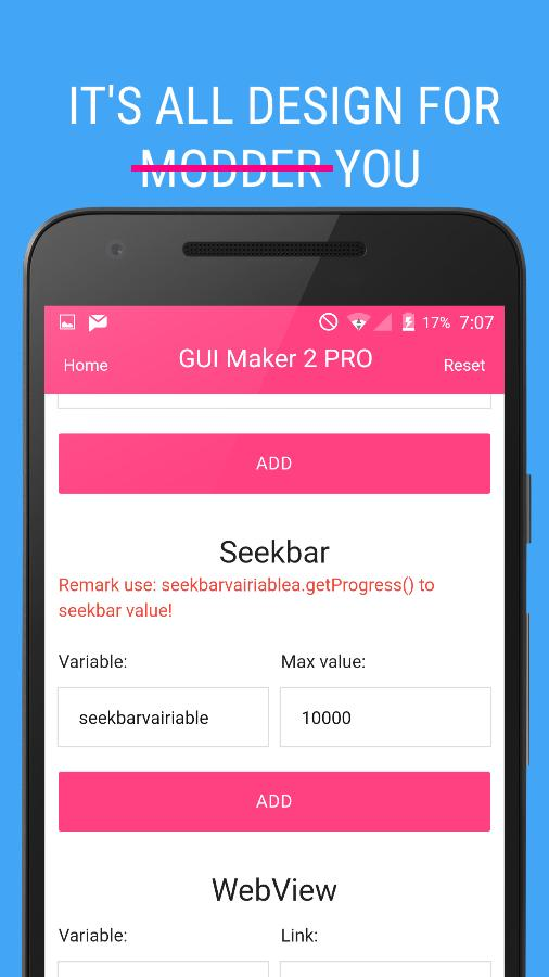 GUI Mod Maker 2 for MCPE(Free) for Android - APK Download