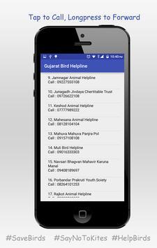 Gujarat Bird Helpline Number apk screenshot
