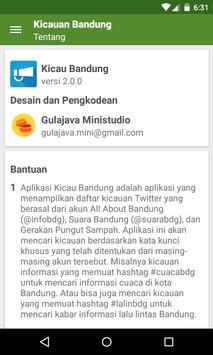 Kicau Bandung apk screenshot