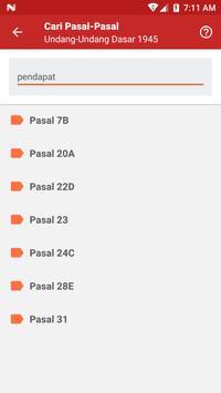 Pancasila dan UUD 1945 apk screenshot