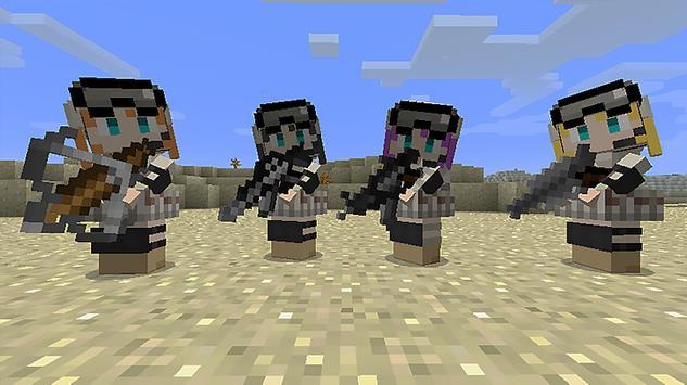 Оружие для Майнкрафт скриншот 3