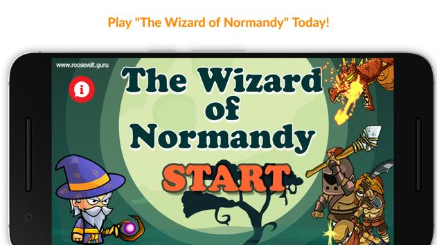 Wizard of Normandy poster