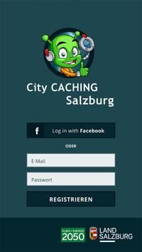 City Caching Salzburg poster