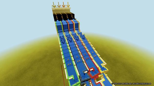 Aquatic Races map for Minecraft screenshot 5