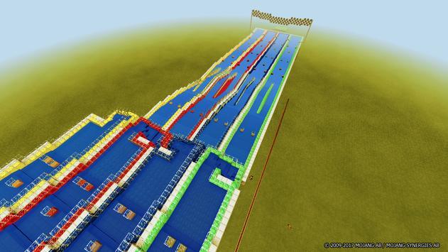 Aquatic Races map for Minecraft screenshot 6