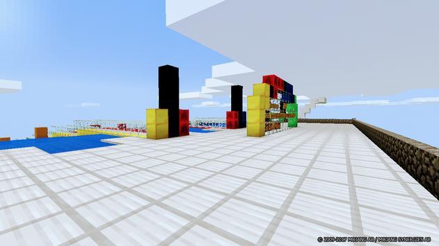 Aquatic Races map for Minecraft screenshot 1