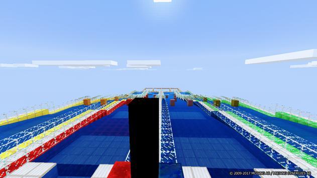 Aquatic Races map for Minecraft screenshot 2