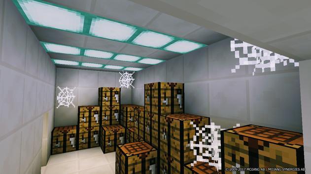 Map Facility Flee for Minecraft PE apk screenshot