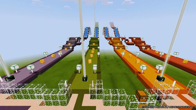 Lucky Block Race for Minecraft poster