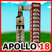 Map Moon Travel for Minecraft PE icon
