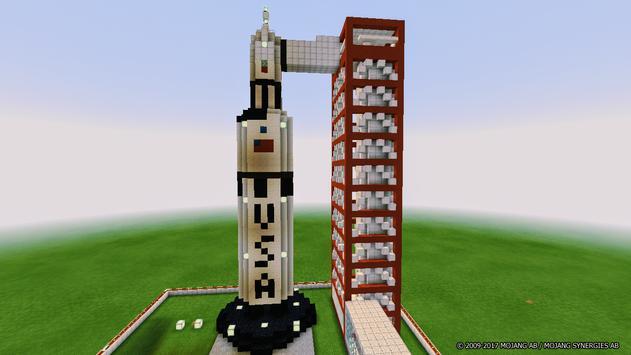 Map Moon Travel for Minecraft PE screenshot 16