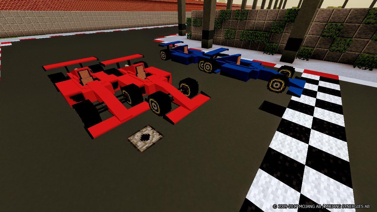майнкрафт гонки #1