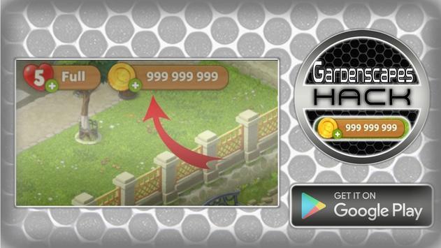 Hack For Gardenscapes Cheats Joke App Prank screenshot 4