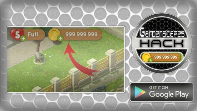Hack For Gardenscapes Cheats Joke App Prank screenshot 1