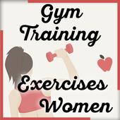 Gym Training Exercises Women icon