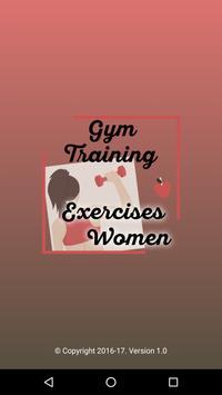 Gym Training Exercises Women poster