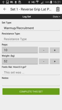 Gym Workout Tracker screenshot 5