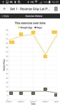 Gym Workout Tracker screenshot 6