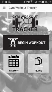 Gym Workout Tracker poster