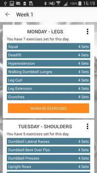 Gym Workout Tracker screenshot 2