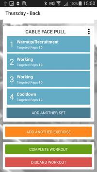 Gym Workout Tracker screenshot 3