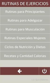 GYM TRAINER GO HOMBRE Y MUJER poster