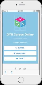 GYN Cursos poster
