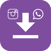 Media Downloader Lite | Insta-Whatsapp Downloader icon