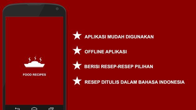 Resep Padang poster