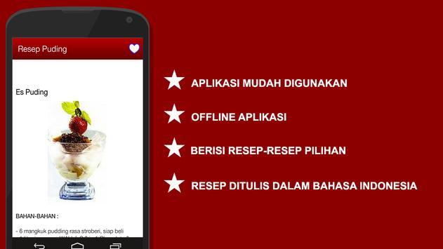 Resep Puding apk screenshot
