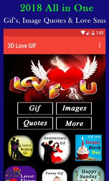 3D Love Gif poster