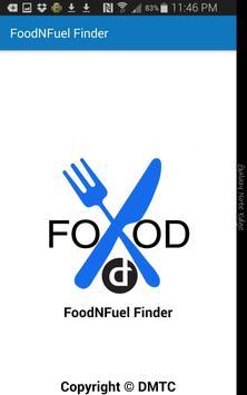 FoodandFuel Finder poster