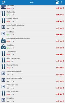 FoodandFuel Finder apk screenshot