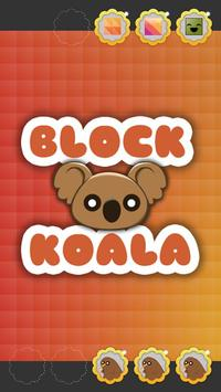 Block Koala poster