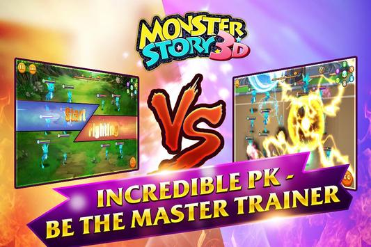 PK House 3D - Monster Story screenshot 1