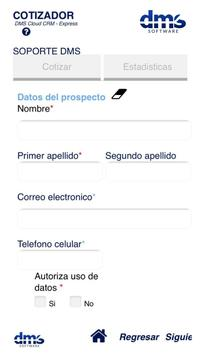 DMS Cotizador apk screenshot