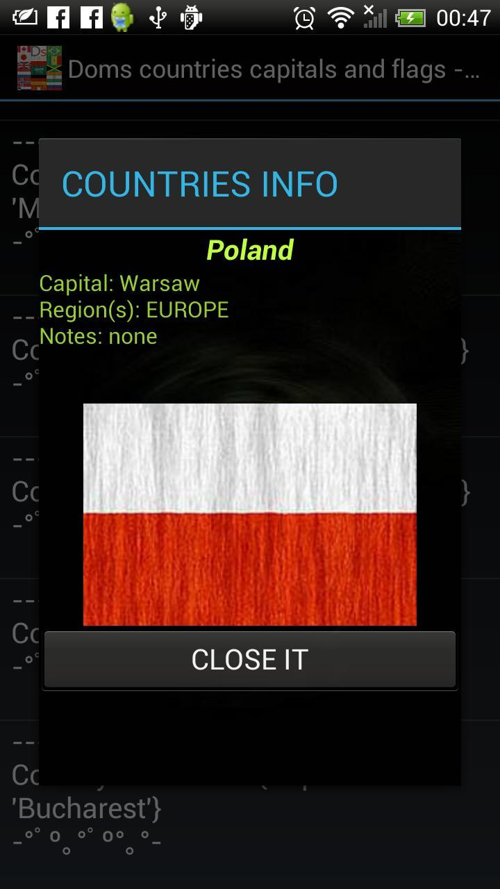country capital flag quiz game for Android - APK Download