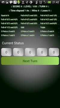 Doms roll dice poker game free apk screenshot