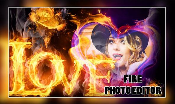 Fire Photo Editor poster