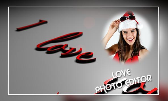 Love Photo Editor screenshot 1