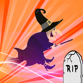 Halloween Flappy Witch icon