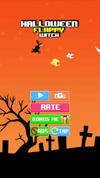 Halloween Flappy Witch poster