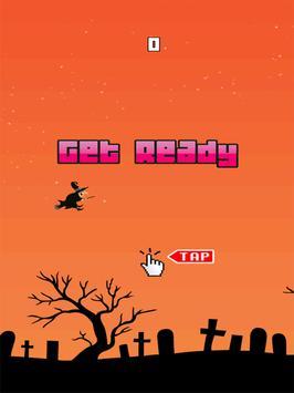 Halloween Flappy Witch apk screenshot