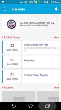 Info Diklat BPPTL screenshot 1