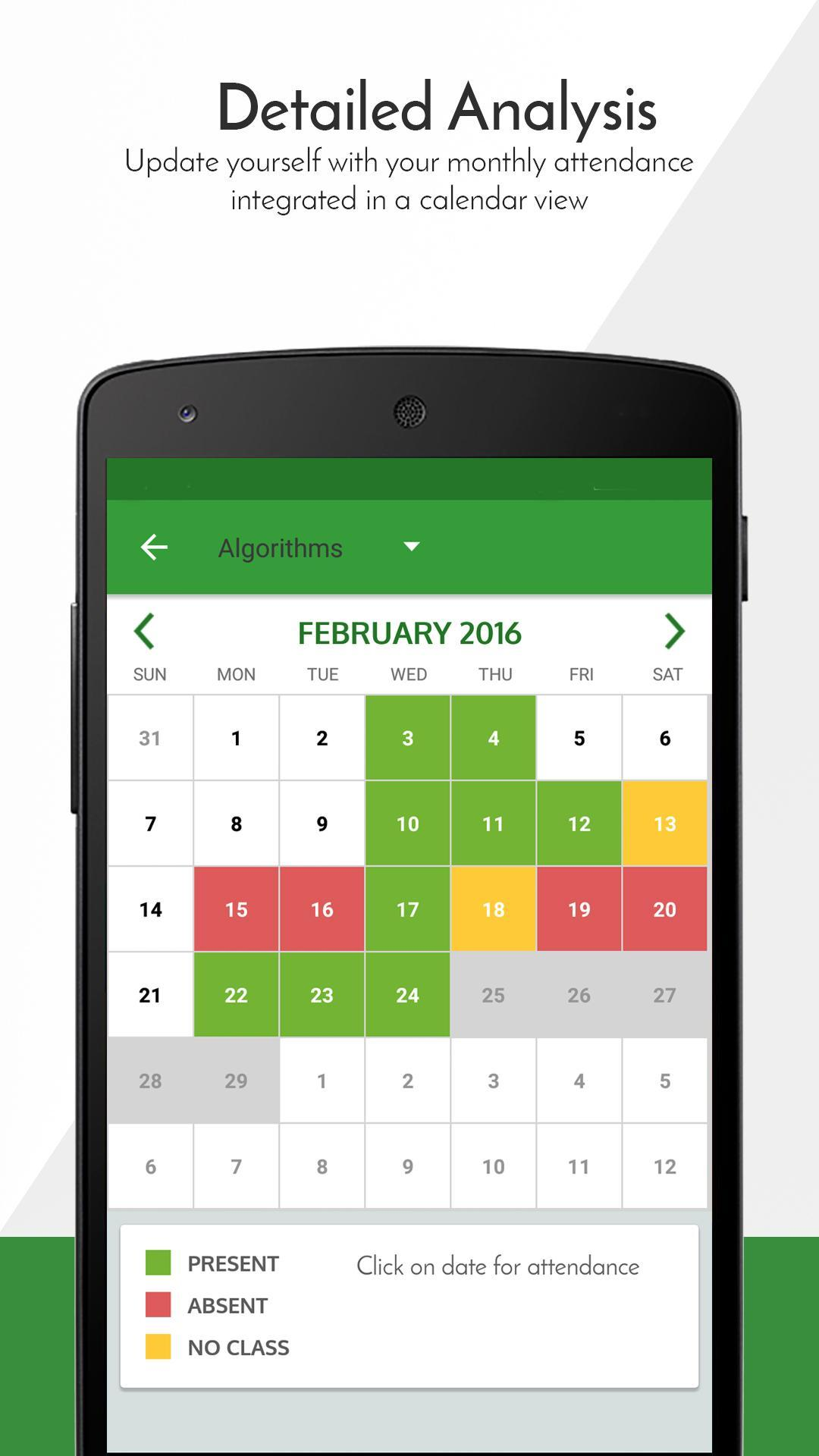 Attendance Manager for Android - APK Download