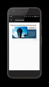 AlangToday apk screenshot