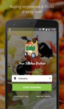 Sabji App poster